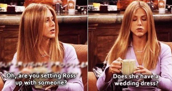 15 Times Rachel Green Was the Funniest Character on 'Friends' and Didn't  Know It | Moviefone