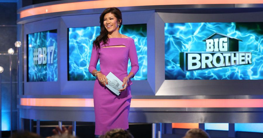 Host Julie Chen on BIG BROTHER on Tuesday, September 15th (9:00 - 10:00 PM, ET/PT) on the CBS Television Network.   Photo: Monty Brinton/CBS ©2015 CBS Broadcasting, Inc. All Rights Reserved