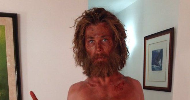 chris hemsworth, weight loss, in the heart of the sea