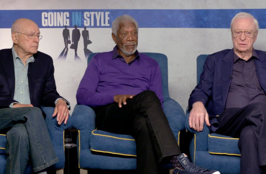 Alan Arkin, Morgan Freeman, Michael Caine from Going in Style