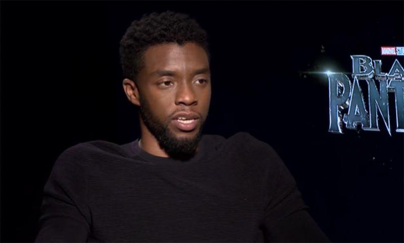 Chadwick Boseman from Black Panther
