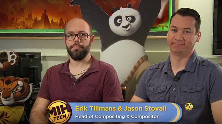 "Erik Stillmans and Jason Stovall of ""Kung Fu Panda 3"""