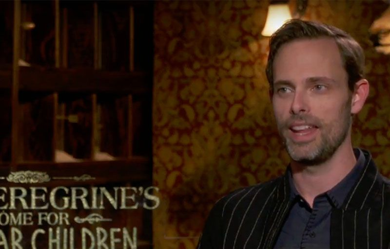 Ransom Riggs, author of Miss Peregrine's Home for Peculiar Children