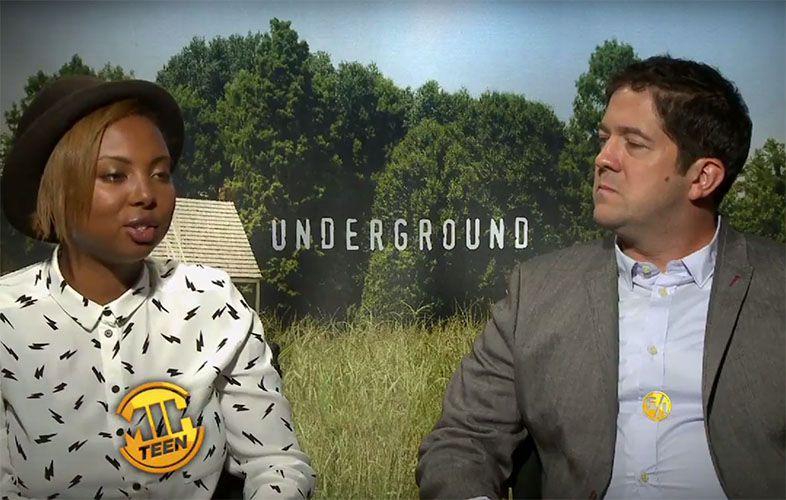 "Misha Green and Joe Pokaski, creators and executive producers of ""Underground"""