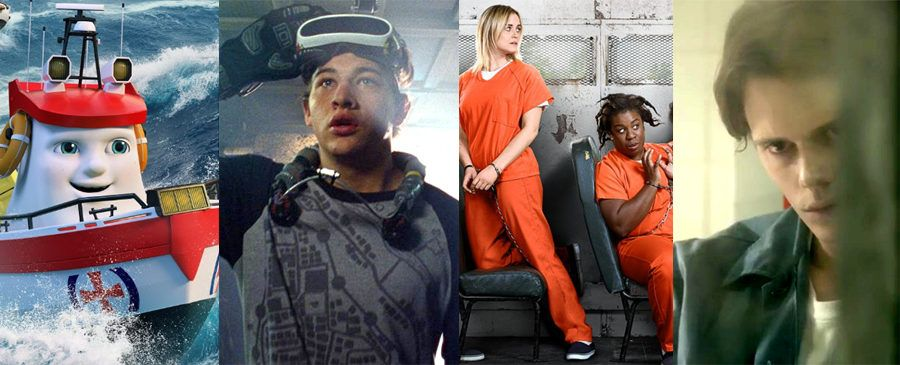 Anchors Up, Ready Player One, Orange Is the New Black, Castle Rock