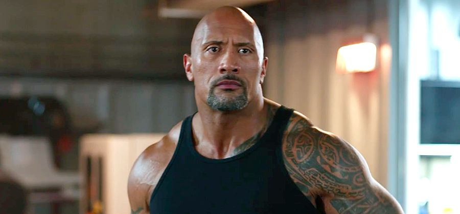 The Rock, The Fate of the Furious
