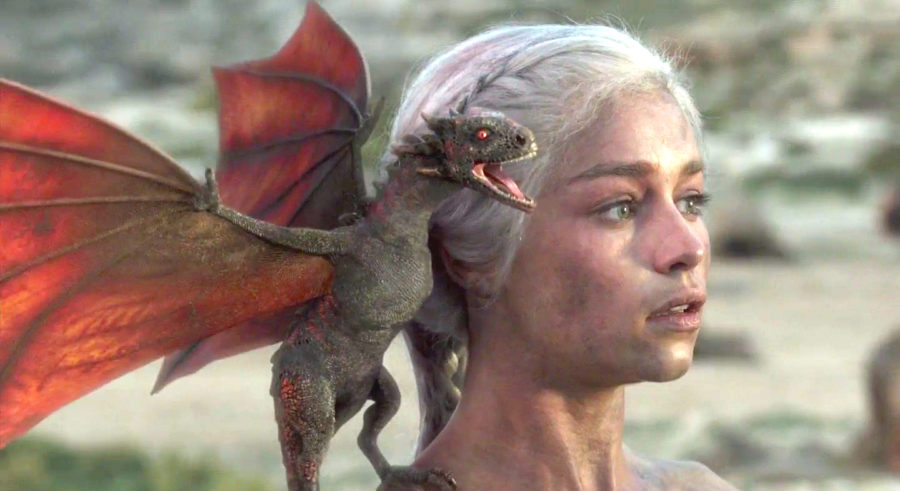 Emilia Clarke Got 3 Dragon Tattoos To Honor Her Game Of -6384