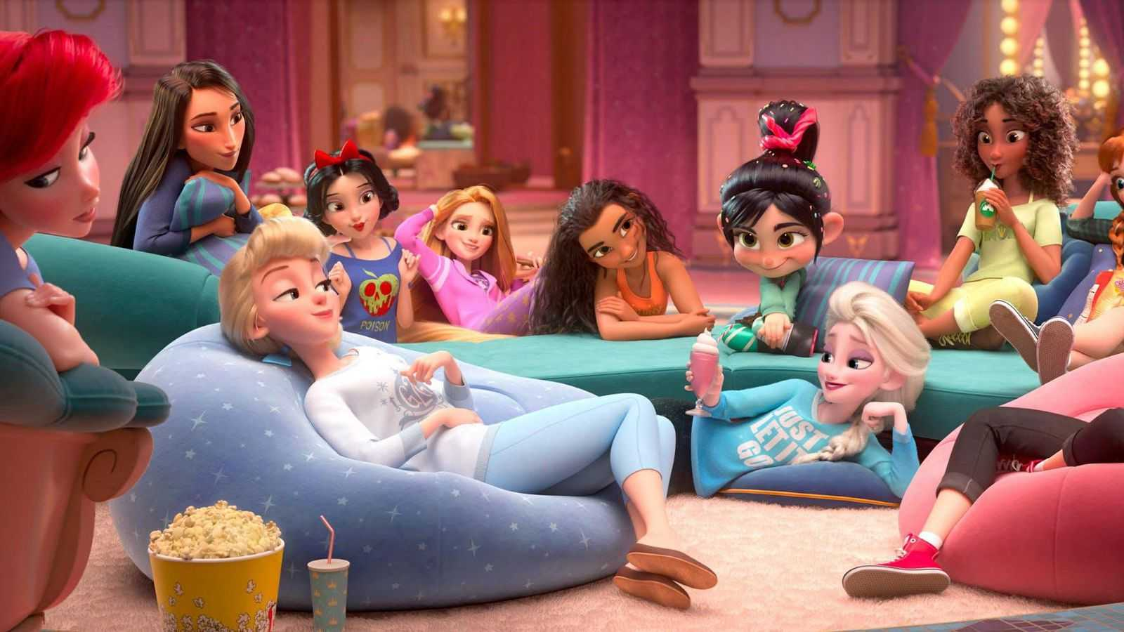 How Ralph Breaks The Internet Pulled Off That Awesome Disney Princesses Scene Moviefone
