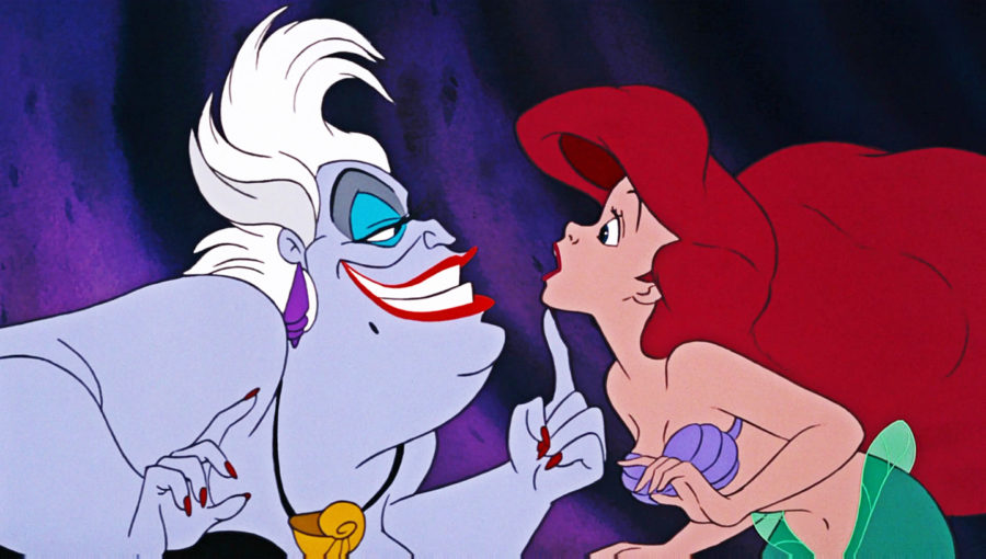 The Little Mermaid, Ursula and Ariel