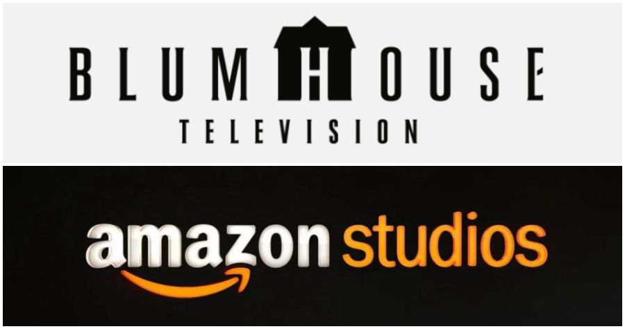 Blumhouse Television and Amazon Studios logos