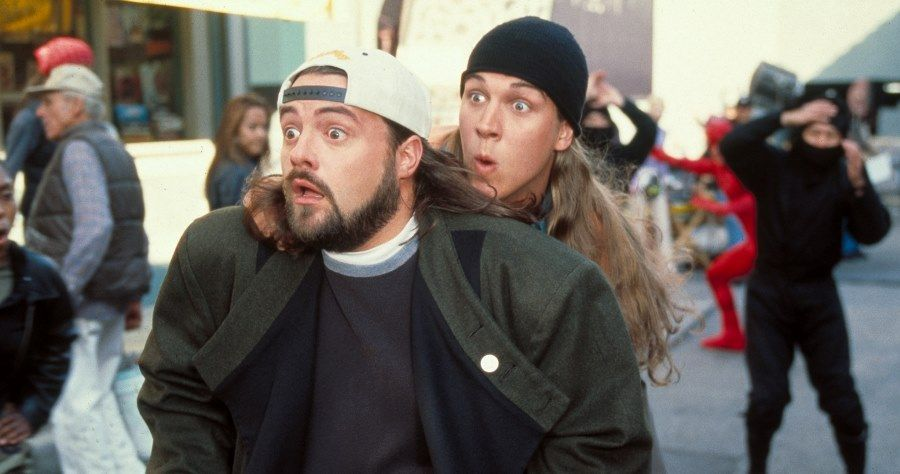 Kevin Smith and Jason Mewes in Jay and Silent Bob Strike Back