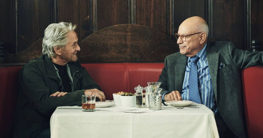 Michael Douglas and Alan Arkin in The Kominsky Method