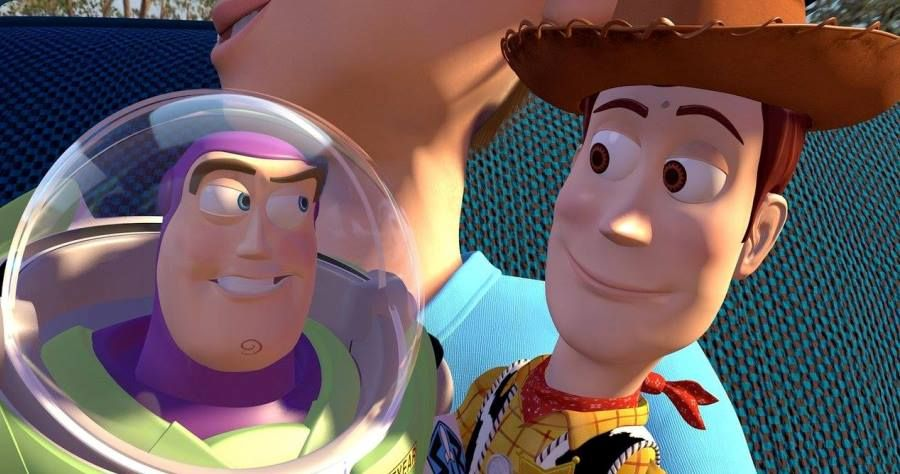 Toy Story's Buzz and Woody