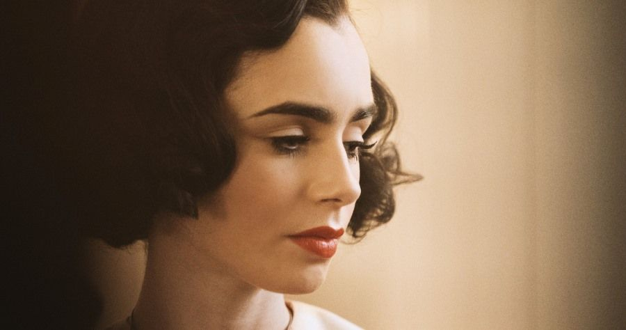 Lily Collins in The Last Tycoon