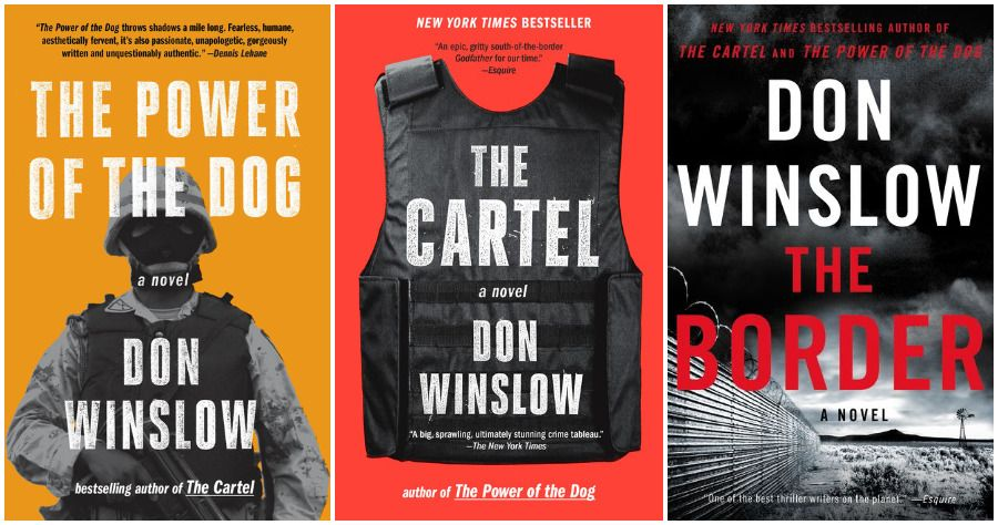 Don Winslow's Power of the Dog book series covers