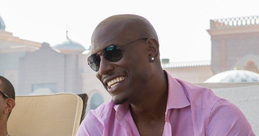 Tyrese Gibson in Fast and Furious 7