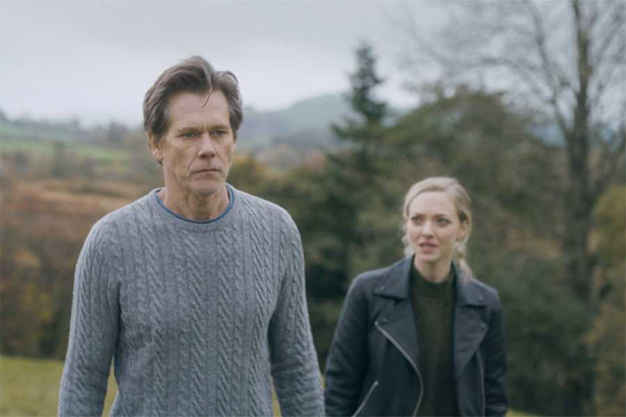 Kevin Bacon And Amanda Seyfried Talk About Their New Film You Should Have Left Moviefone