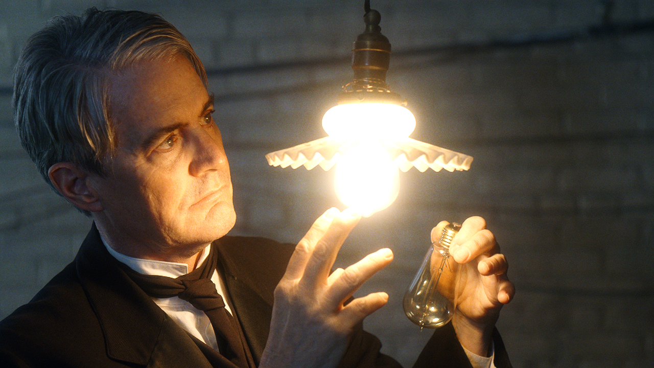 kyle maclachlan as thomas edison