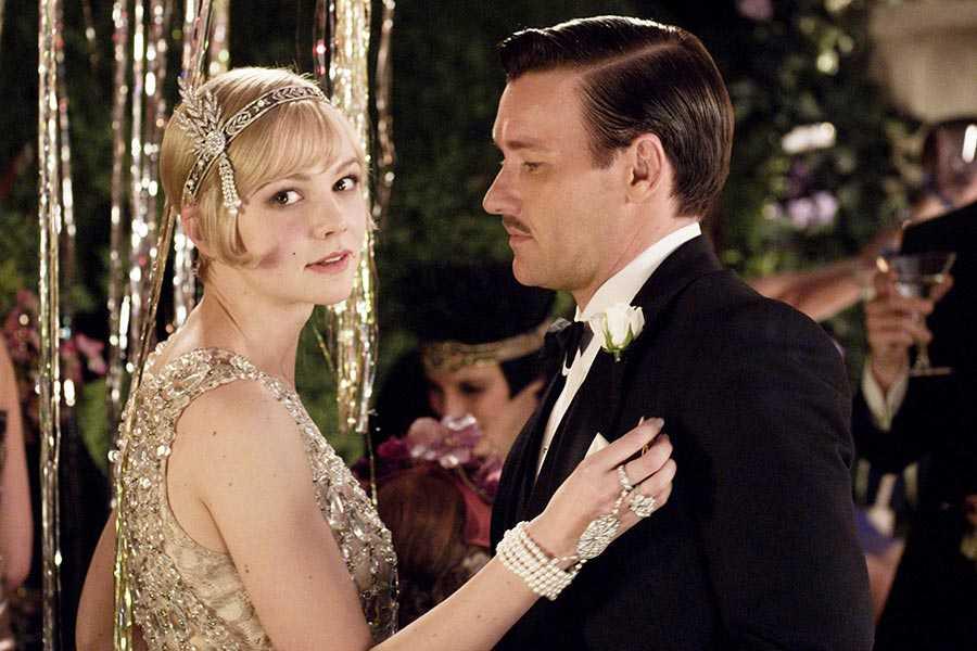 Carey Mulligan and Joel Edgerton in 'The Great Gatsby'