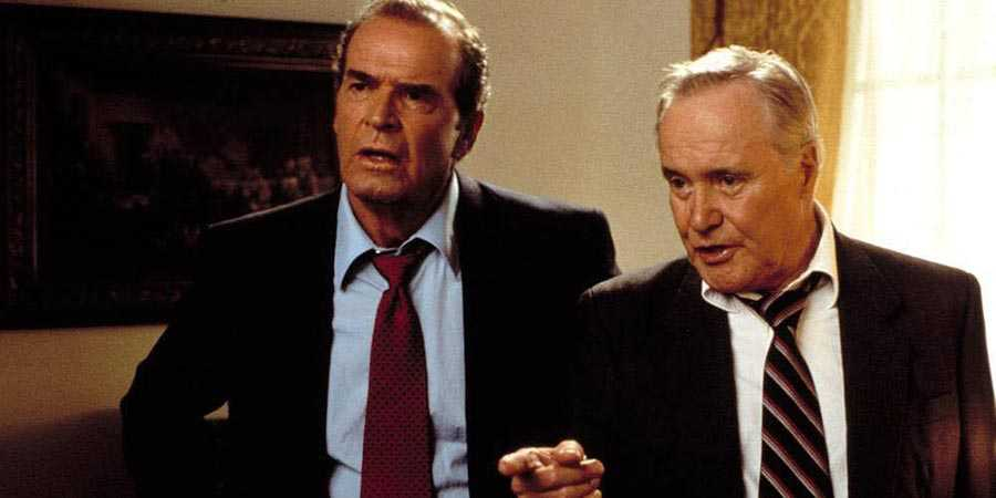 James Garner and Jack Lemmon in 'My Fellow Americans'