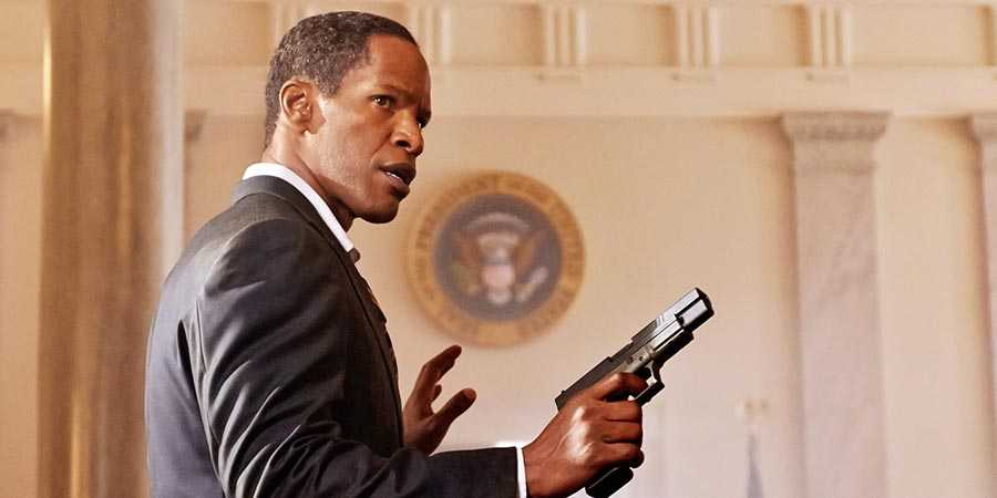 Jamie Foxx in 'White House Down'
