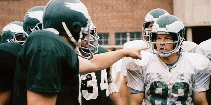 Mark Wahlberg as Vince Papale in 'Invincible'