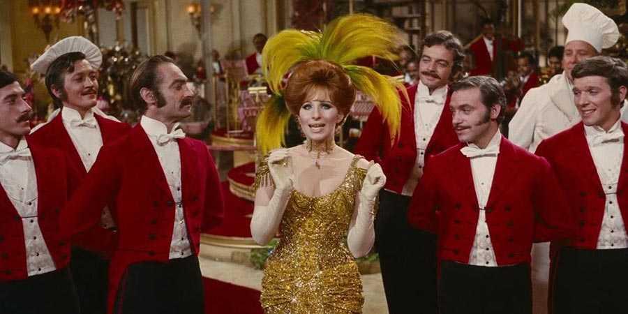 Barbra Streisand as Dolly Levi in 'Hello, Dolly!'