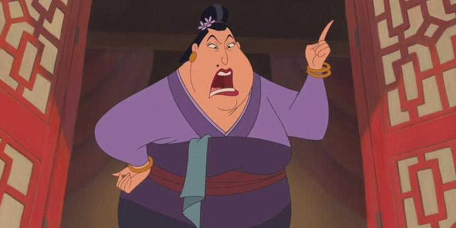 The Matchmaker (voiced by Miriam Margolyes) in 'Mulan'