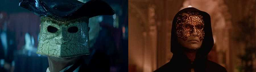 """""""Save Your Tears"""" (left) and 'Eyes Wide Shut' (right)"""