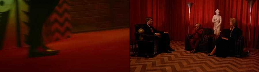 """""""Blinding Lights"""" (left) and 'Twin Peaks' (right)"""