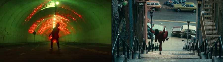 """""""Blinding Lights"""" (left) and 'Joker' (right)"""
