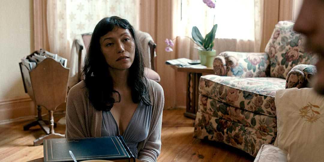 Director/writer/producer/editor/star Isabel Sandoval in 'Lingua Franca.'