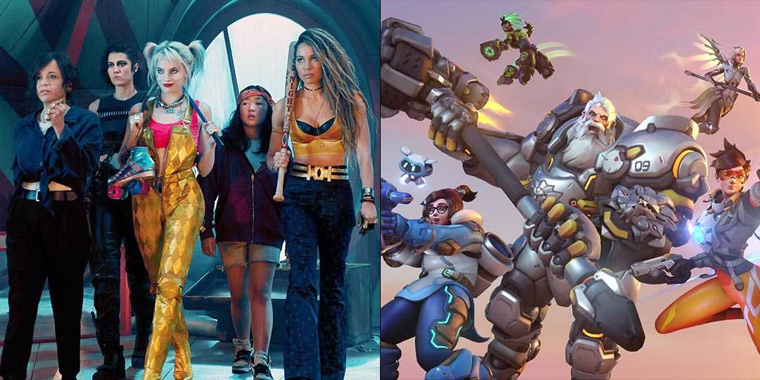 'Birds of Prey' and Overwatch