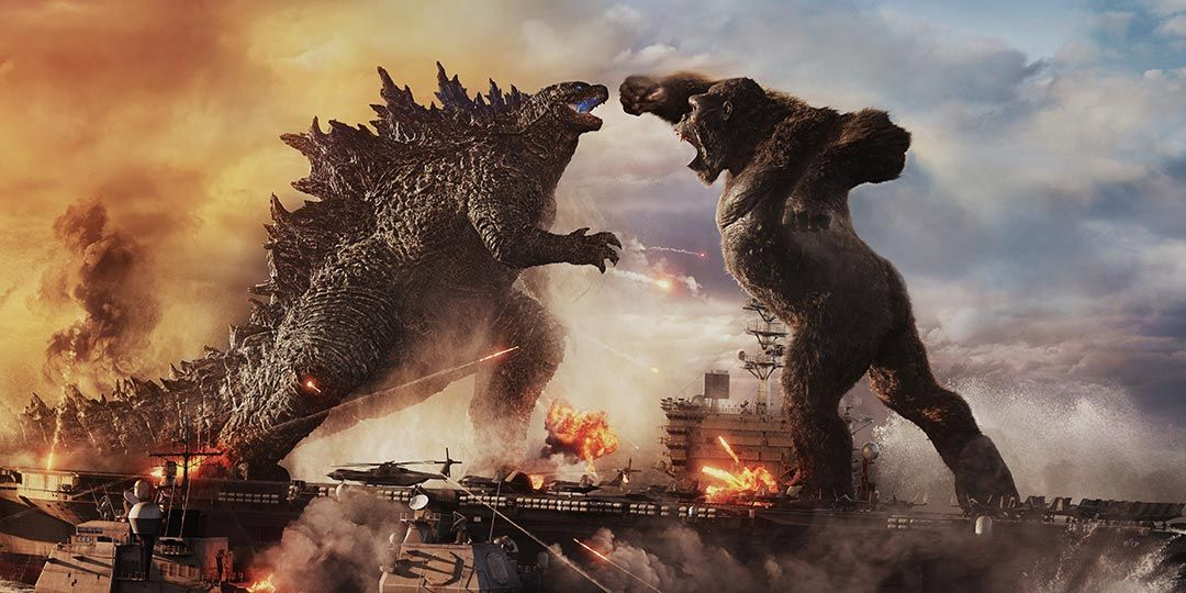 A scene from 'Godzilla vs. Kong'