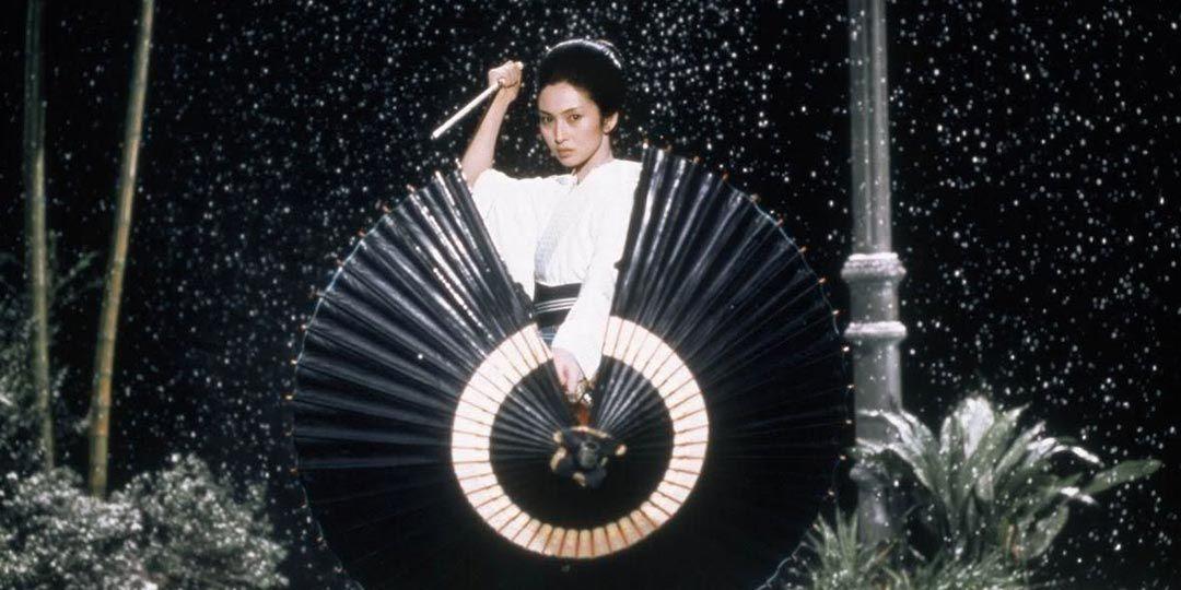 Meiko Kaji as Yuki Kashima in 'Lady Snowblood'