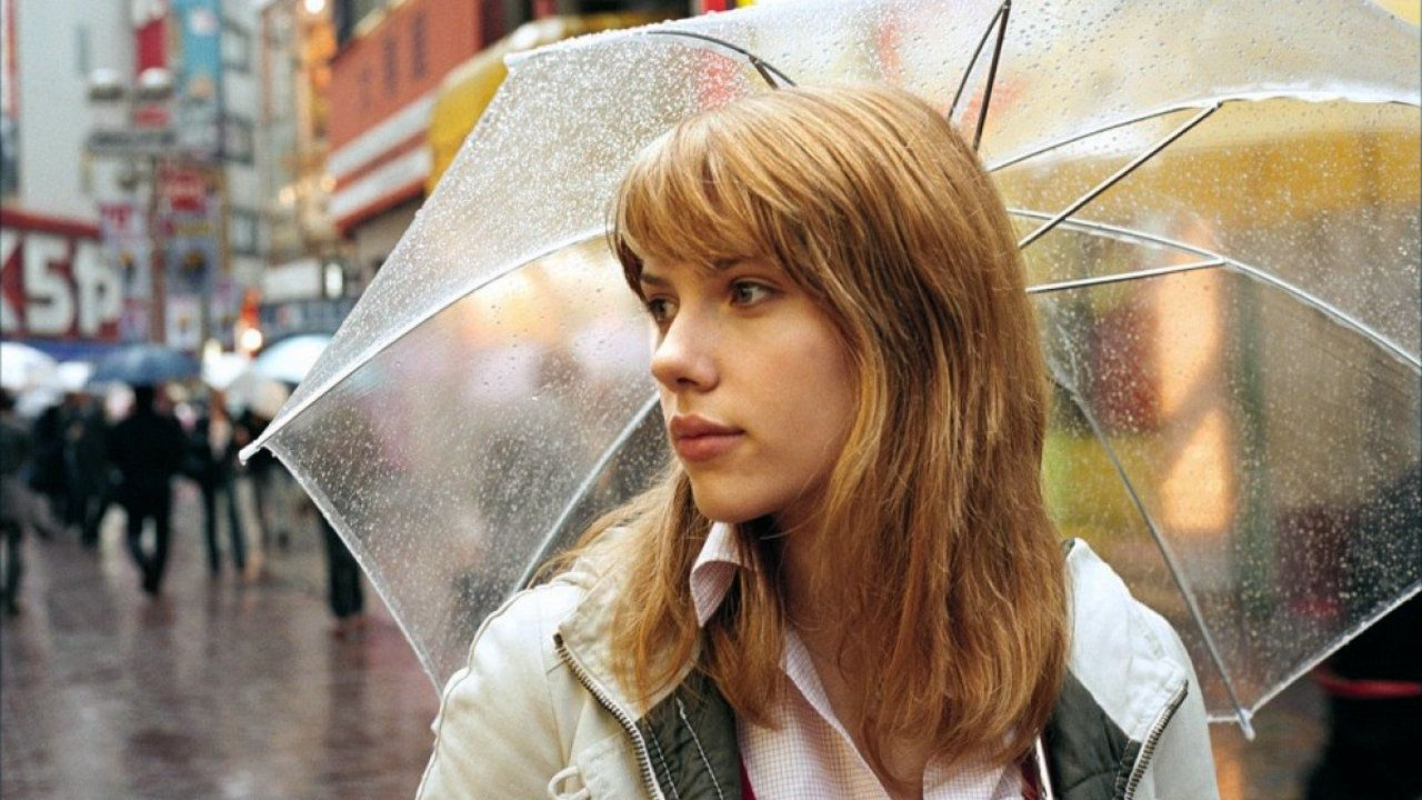 Scarlett Johansson in the movie Lost in Translation