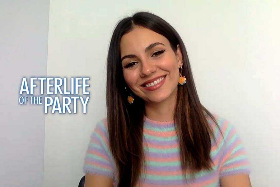 Victoria Justice, Midori Francis talk Afterlife of the