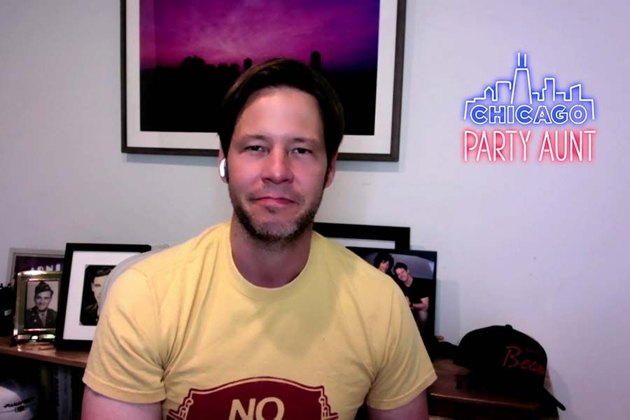 Ike Barinholtz, one of the creators of 'Chicago Party Aunt'