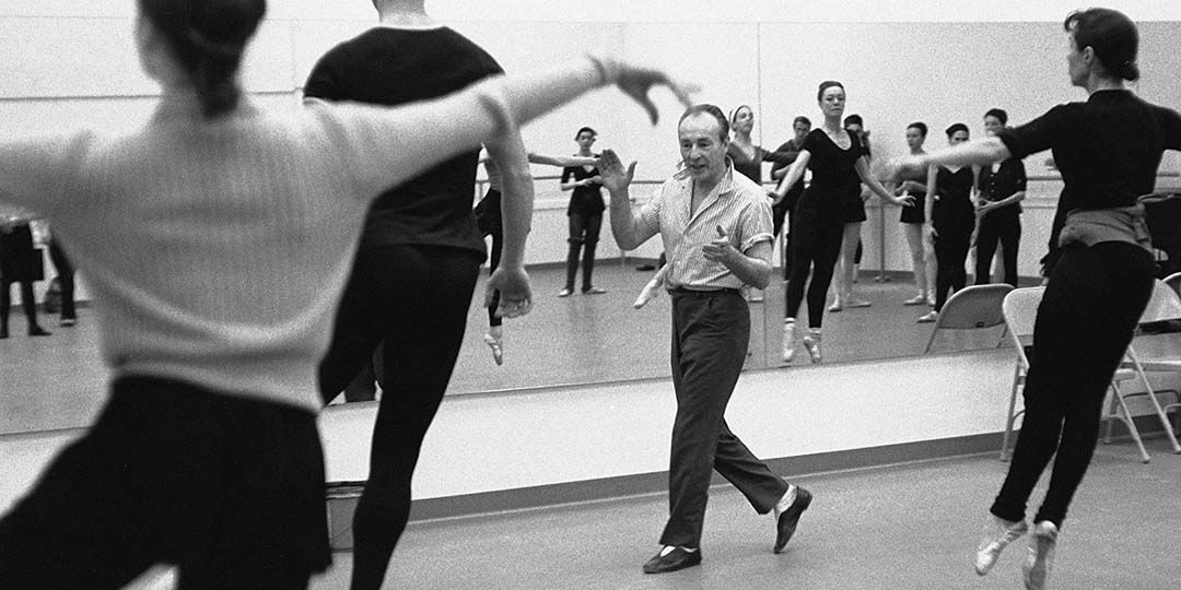 A scene from 'In Balanchine's Classroom,' directed by Connie Hochman
