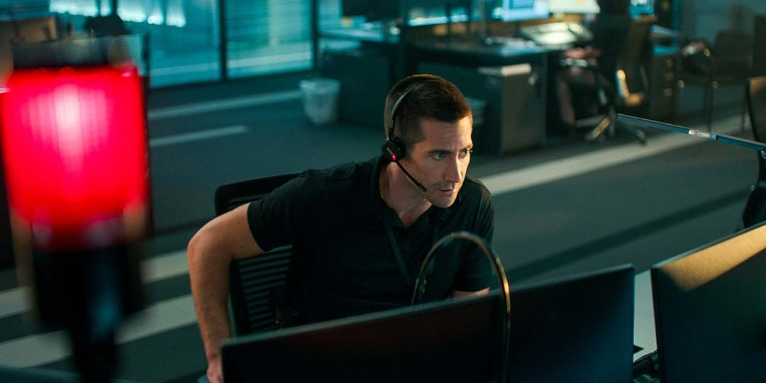 Jake Gyllenhaal in 'The Guilty'
