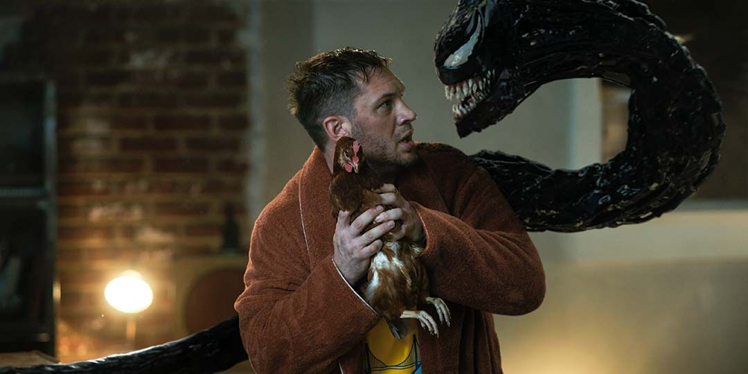 Tom Hardy in 'Venom: Let There Be Carnage'