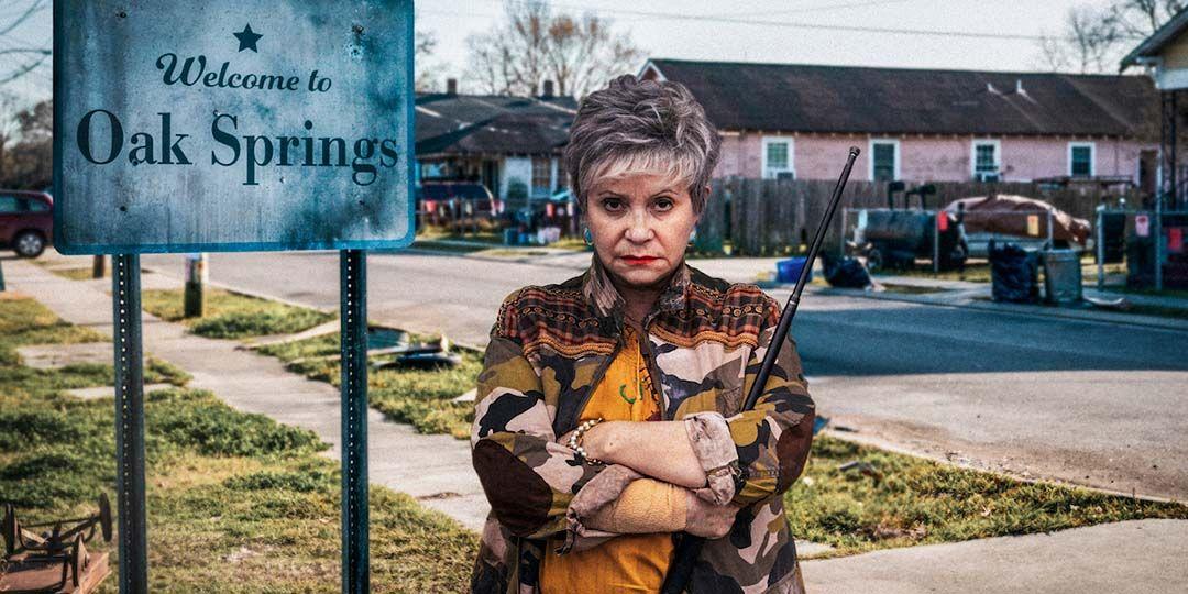 Adriana Barraza in 'Bingo Hell'